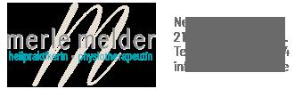 Osteopathie in Buchholz i.d. Nordheide – Merle Melder Logo