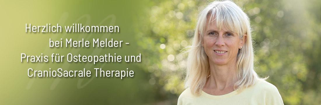 Herzlich willkommen in der Praxis von Merle Melder für Osteopathie und Physiotherapie in Buchholz in der Nordheide